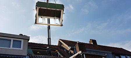 prefab dakkapel Antwerpen