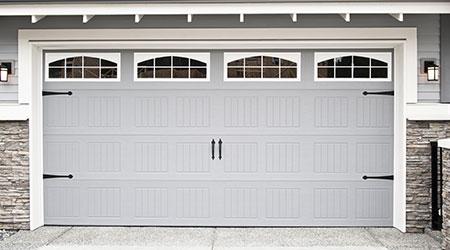 Houten garagepoort